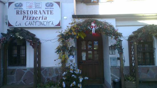 Osteria la Cantinota: facciata del ristorante