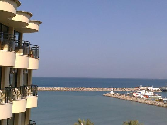Hotel By Karaaslan Inn: Mooi uitzicht zee.