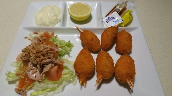 La Taberna De Ivan: Media ración de muslitos de cangrejos ¡¡¡ buenisimos!!!
