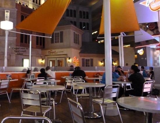 Luxor Hotel Food Court