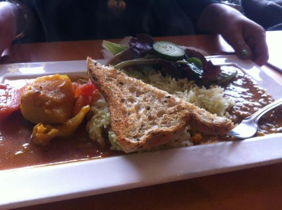 Lentil As Anything St Kilda : dahl and mixed vegetables