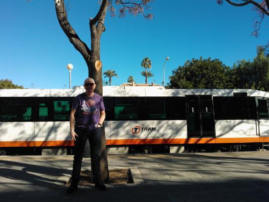 Tranvía de Alicante: L9 Tram at Denia