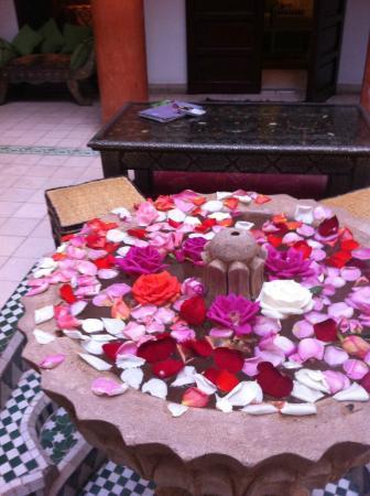 Riad Maison Belbaraka : patio interior