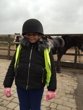 Murthwaite Green Trekking Centre Day Rides: Loving a cold day out riding!