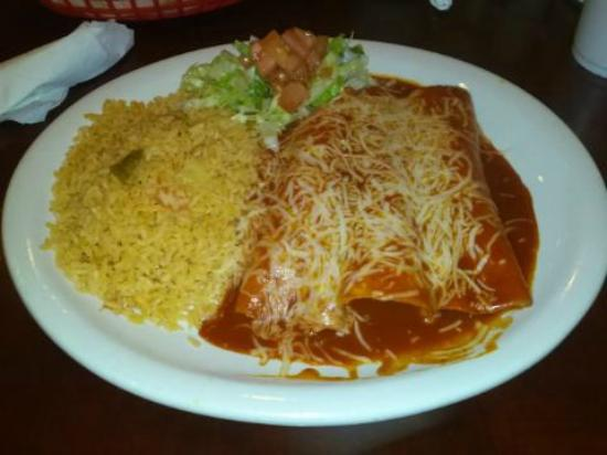 Juarez Mexican Bakery : My chicken enchiladas
