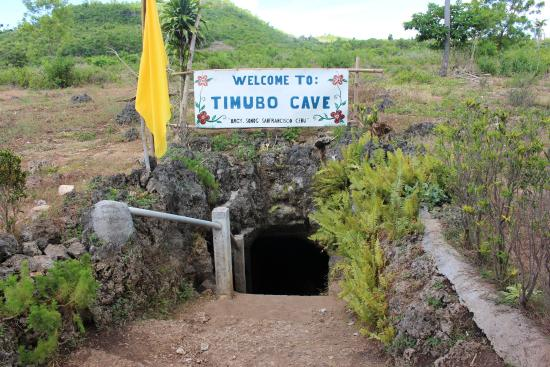 Timobo Caves : Entrance of the cave