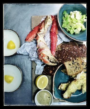 Kitchen & Table Tromso: Our amazing King Crab