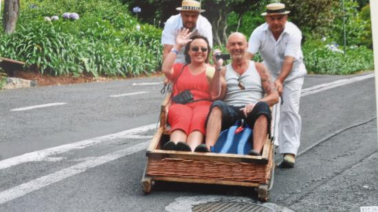 Enotel Lido Madeira : the basket ride