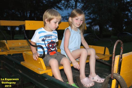 Estancia La Esperanza Turismo Rural: Mis nietos más grandes