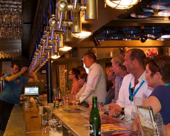 Photo of Modern European Restaurant Delirium Cafe Amsterdam at Piet Heinkade 4-6-8, Amsterdam 1019 BR, Netherlands