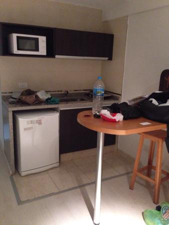 Miliño Buenos Aires Apart Hotel: Cozinha