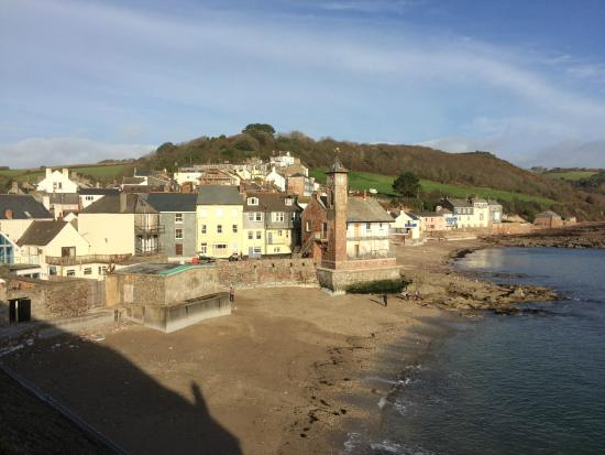 Old School House: View from the balcony of Kingsand