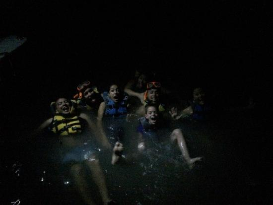 Parguera Water Sports and Adventures: Bioluminescent tour! Thank you Luis!