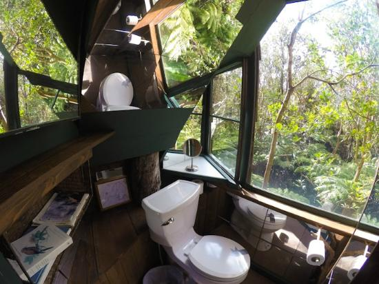 treehouse skye the most amazing bathroom view on earth