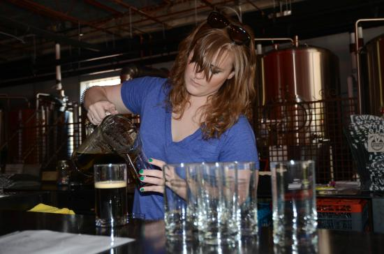 Swamp Rabbit Brewery & Tap Room: Popular destination for Brewery Tours.