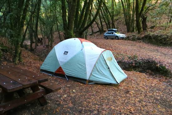 Schoolhouse Campground: Site #30 = honeymoon site