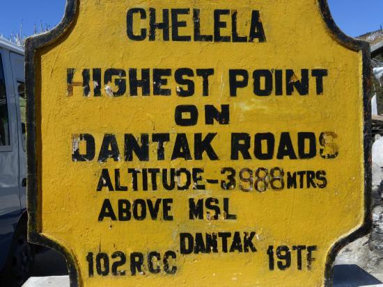 Chelela pass - enroute Paro to Haa
