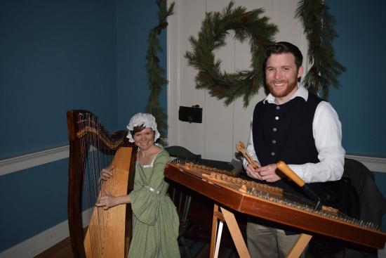 Rock Ford Plantation: Mary-Kate Spring Lee and Peter Winter Lee from Seasons at Yuletide