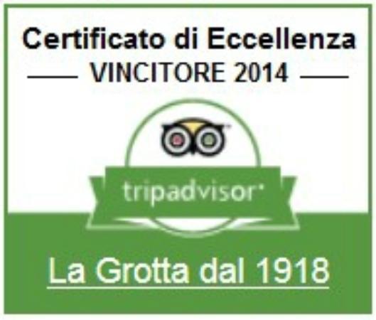 Certificato di Eccellenza 2014