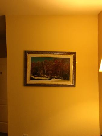 Americas Best Value Inn - Bedford / DFW Airport: Picture frame needs to go about 3 miles to the left