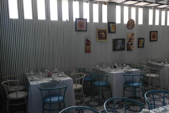 Hotel El Galpon: Comedor del desayuno