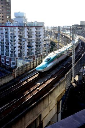 Toyoko Inn Sendai Chuo Ichi - chome Ichi - ban: 電車が手に取る様に・・・