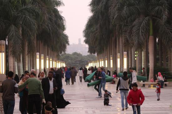 Al-Azhar Park: Street Shot of Al Azzar Park