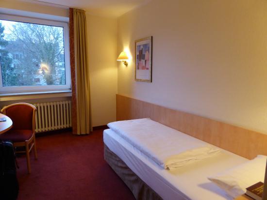 Novum Hotel Bremer Haus : Einzelzimmer