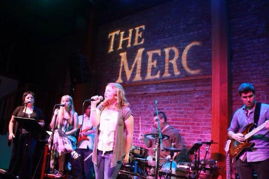 Country at the MERC : AnnaKate singing with the Ranch Rockers