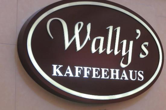 Wally's: signage