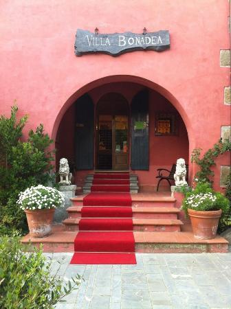Villa Bonadea: entrata