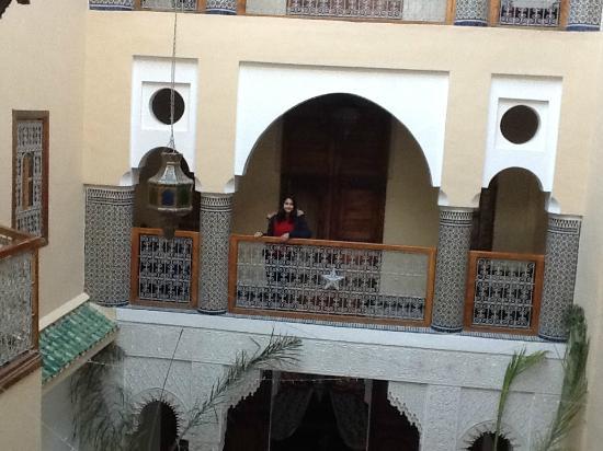 Riad-Boutique Borj Dhab Fez: balcon