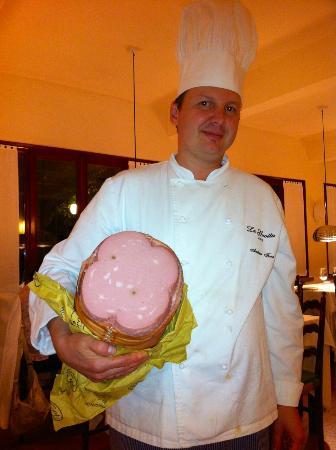 Chef Andrea , la Mortadella Gran Riserva Favola di Palmieri