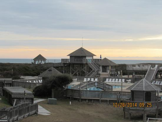 Barrier Island Station - Duck: Sunrise view each morning
