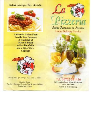 La Pizzeria: Visit & look inside - Enjoy!!