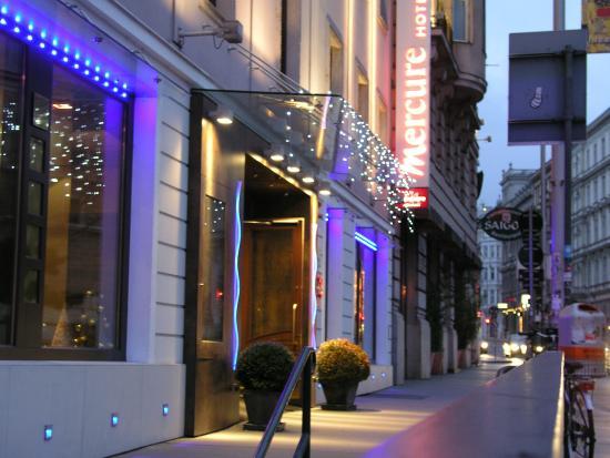 Mercure Secession Wien : Vienna: Ingresso Hotel