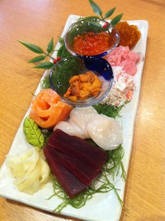 Otaru Poseidon : Sushi platter