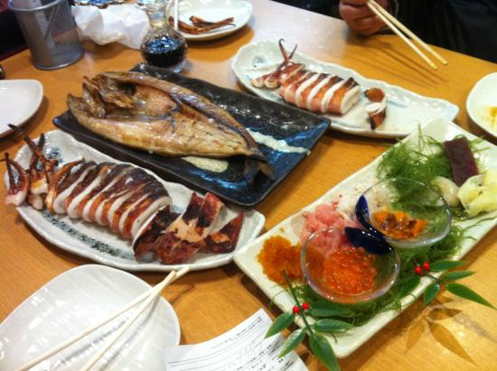 Otaru Poseidon : Generous lunch at Poseidon