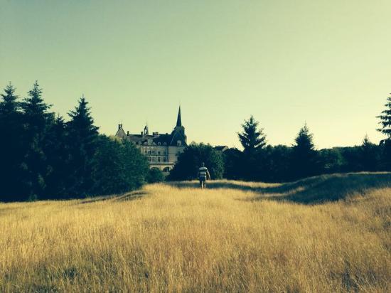 Chateau Sainte Sabine: The chateau from the park side