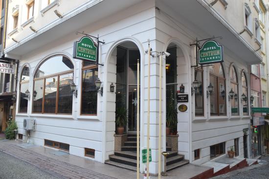 Hotel Centrum Istanbul : Fachada do hotel