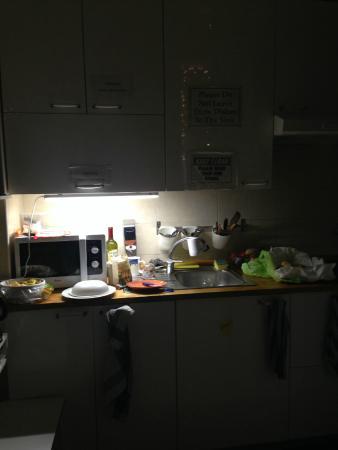 Dreaming Rome Hostel: Cozinha