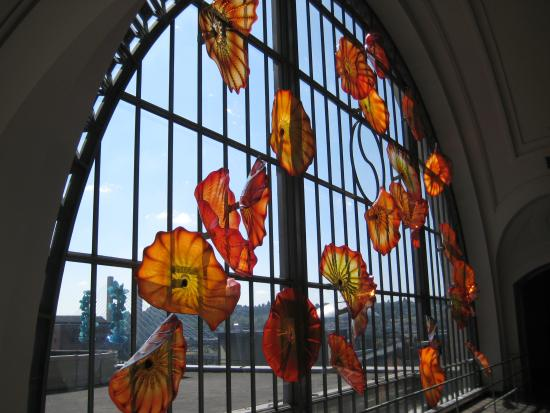 Union Station: Chilhuly Butterflies