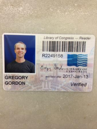 IM Proud My Own Library Of Congress Library Card  Picture Of