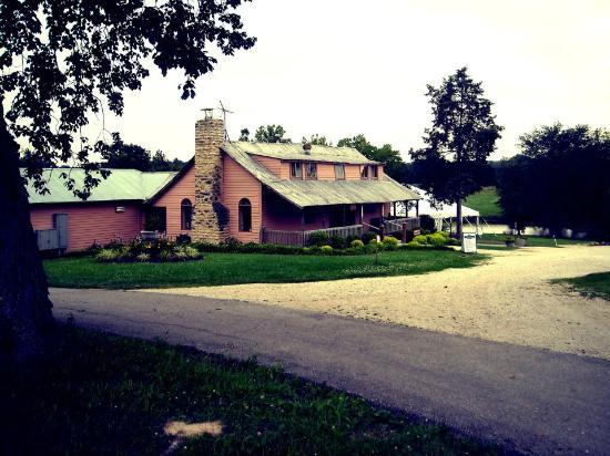 Villa Antonio Winery: The tasting room