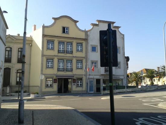 Hotel das Salinas: fachada