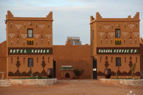 Hotel Kasbah Sahara Services: Entrée de la kasbah sahara services