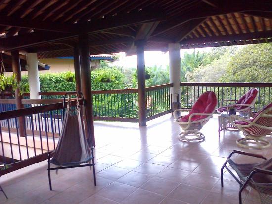 Portal Lencois Hotel: Varandas comuns