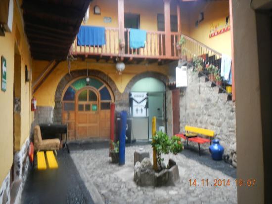 Pirwa Hostel Backpackers Familiar, San Blas: Entrada do Pirwa