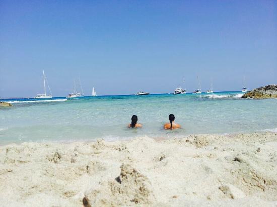 Playa de ses Illetes: Mejor que el Caribe!