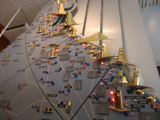Ver-sur-Mer, Frankrike: Musee America Gold Beach